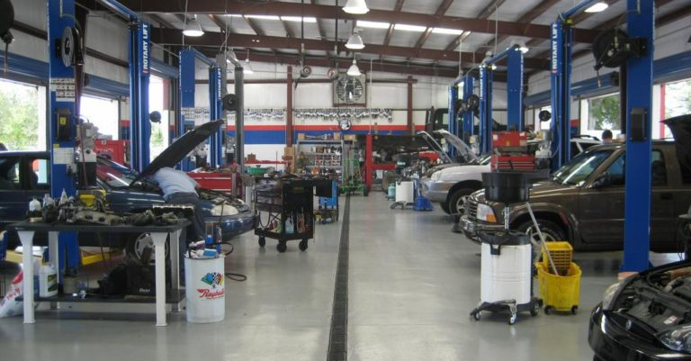 Steel Auto Repair Shop