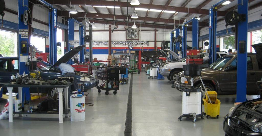 why build a steel auto repair shop metal prefab buildings On waste disposal in motor repair workshop
