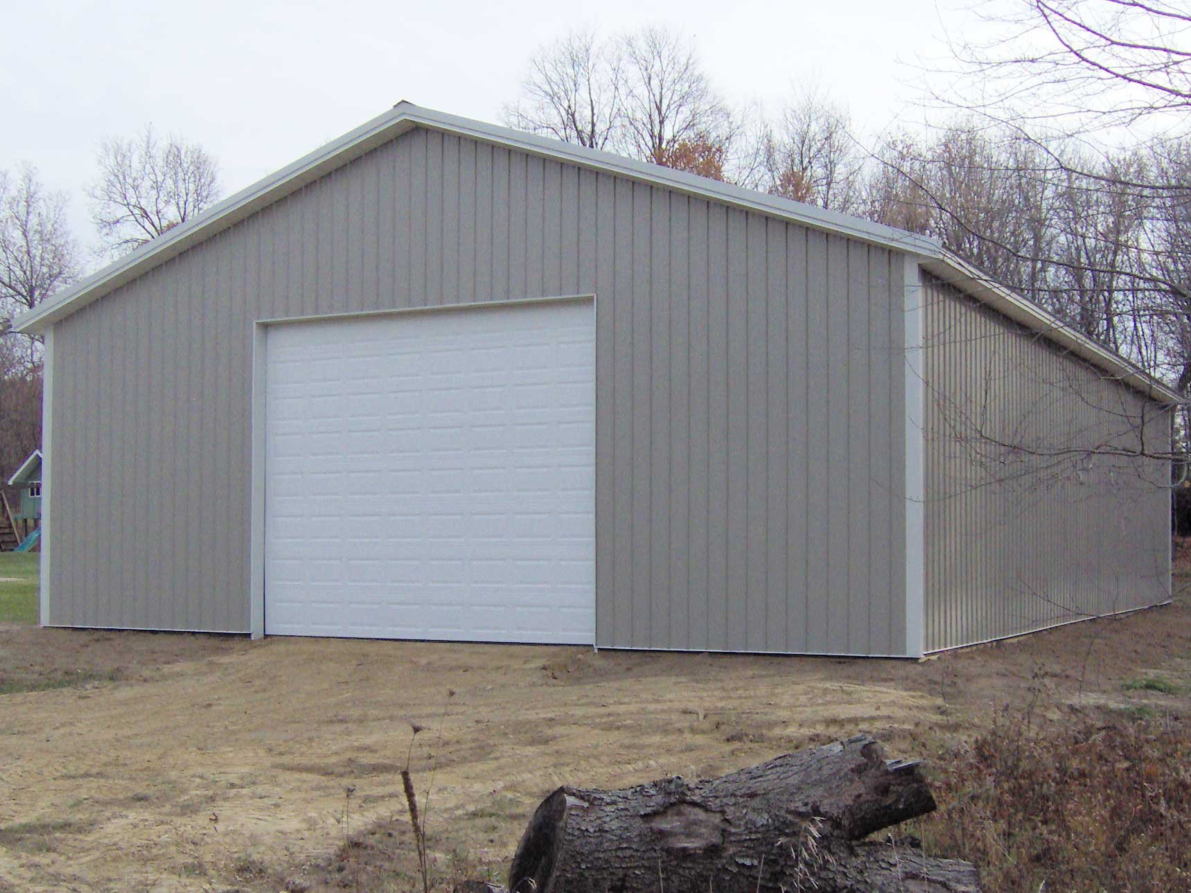 4 critical considerations when buying steel garage kit for Metal garage pics