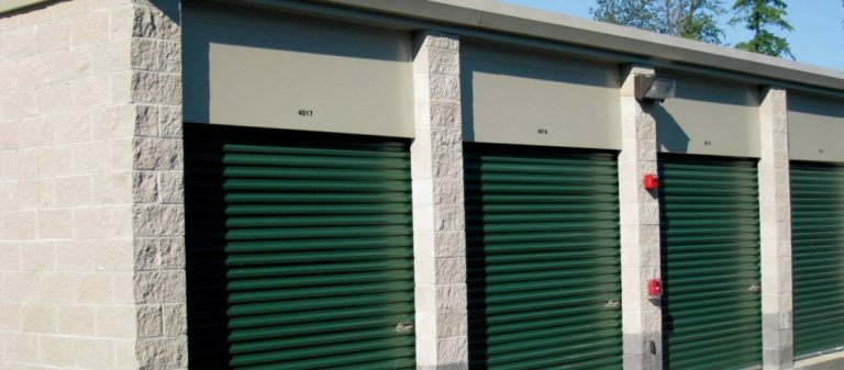 Steel Self-Storage Building